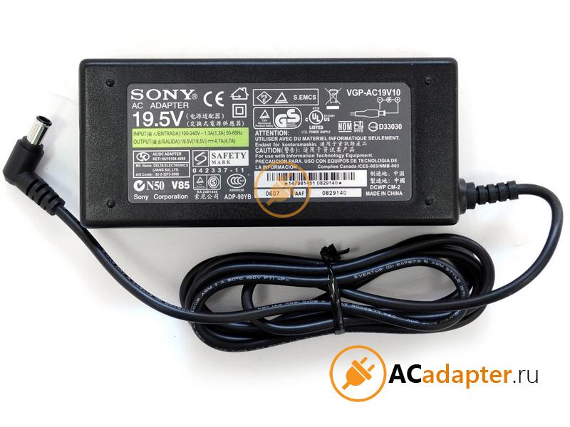 Адаптер для ноутбука Sony 19.5V 4.7A